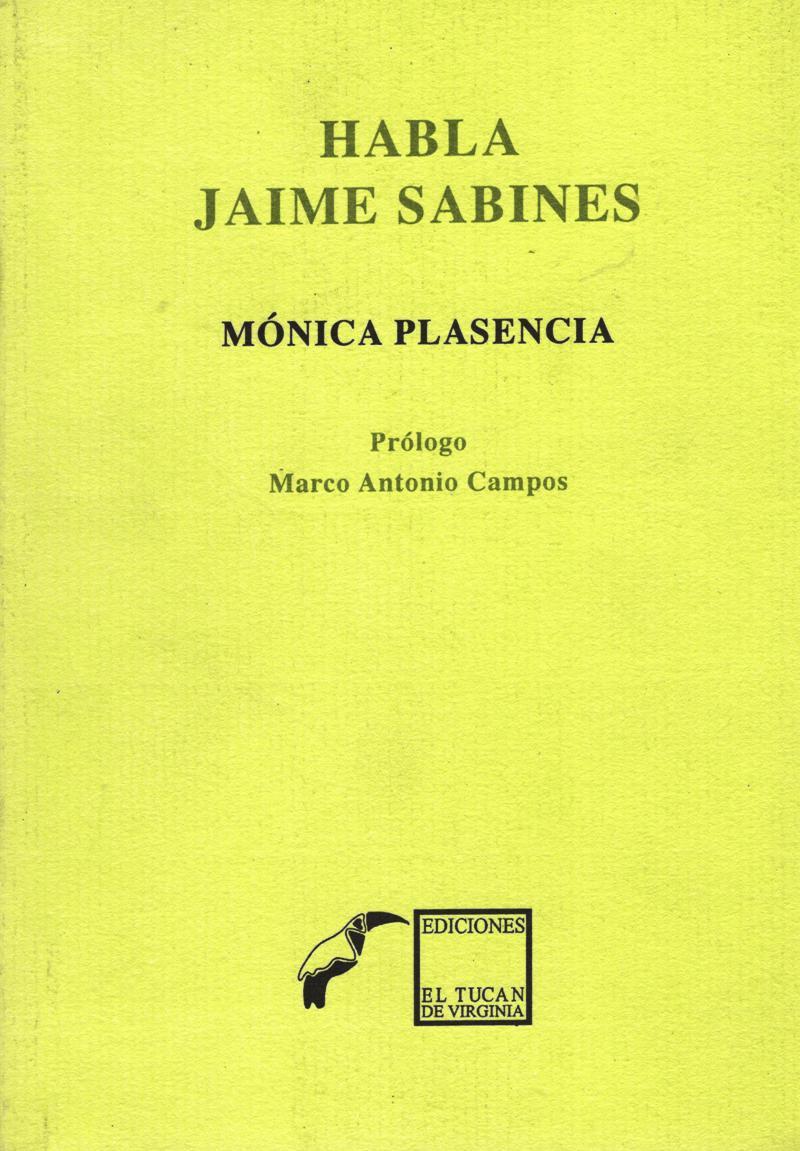 HABLA JAIME SABINES