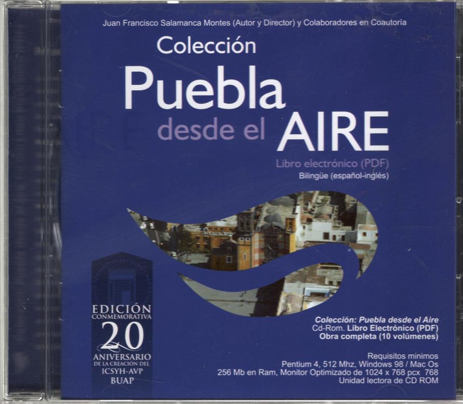 COLECCION PUEBLA DESDE EL AIRE CD OBRA COMPLETA 10 VOLUMENES