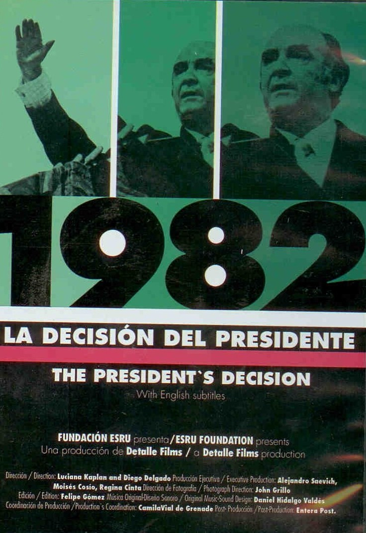 1982 LA DECISION DEL PRESIDENTE (DVD)